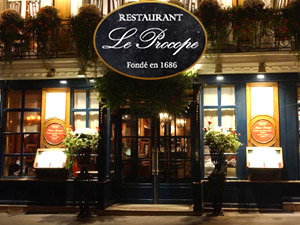 Le Procope Paris 75006